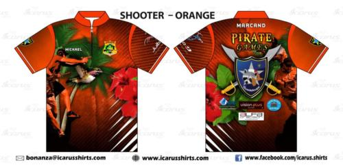 PIRATE GAMES - ORANGE