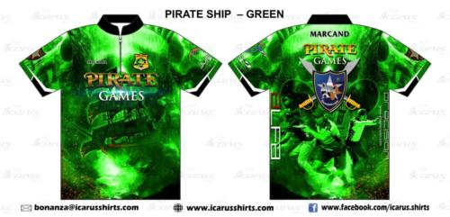 pirate games ship- green