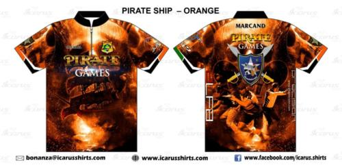 pirate games ship- orange